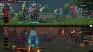 Royal Never Give Up vs CDEC Gaming game 1