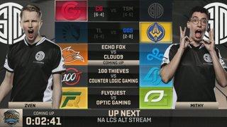 NA LCS Lounge: Echo Fox vs. Cloud9