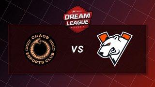 Chaos vs Virtus Pro - Game 3 - Playoffs - CORSAIR DreamLeague S11 - The Stockholm Major