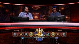 Amnesiac vs Monsanto - Hearthstone Grandmasters Americas S2 2019 - Week 7
