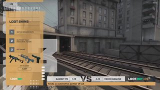 (EN) Gambit Youngsters vs Vexed Gaming | map 1 | Loot.bet/CS Season 3 | by @VortexKieran