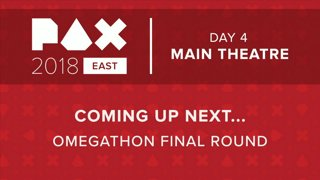 PAX East 2018 - Main Theater - Omegathon Final Round