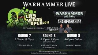 The Las Vegas Open 2019 Warhammer 40,000 Championships: Game 6