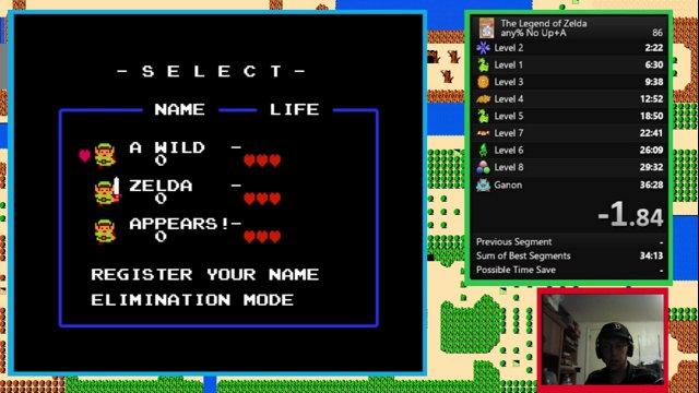 Zelda Any% - 36:14