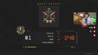 Solo Blackout World Record Attempts! [New Emotes, Notifications and Badges!]