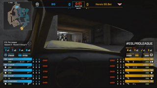 CS:GO - Heroic vs. BIG [Overpass] Map 2 - Group B - ESL Pro League Season 9 Europe