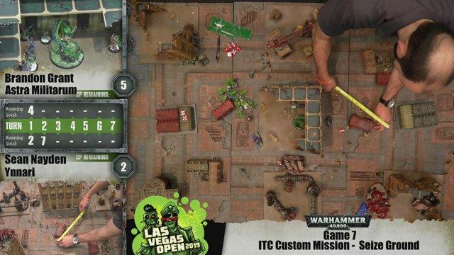 The Las Vegas Open 2019 Warhammer 40,000 Championships: Game 7