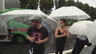 Tokyo, JPN - Typhoon Time - Tim and Lily Last Day jnbCry jnbT jnbL jnbD - !Jake NEW !YouTube !Discord - @JakenbakeLIVE on !Socials