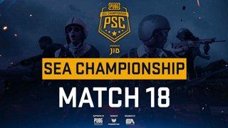 [PSC] [TH] JIB PUBG SEA Championship Phase 3  Game 18