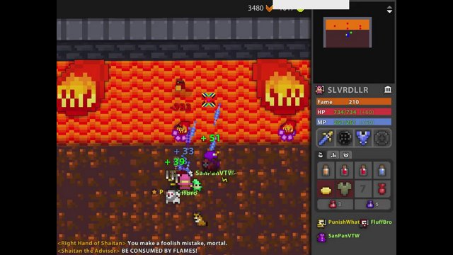 Fastest Lair of Draconis I've Seen - RotMG