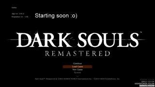 First playthrough | Dark souls 1 remastered | No backseating