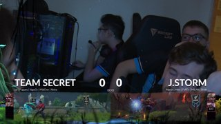 Team Secret vs J.Storm Kuala Lumpur Major- Day 1 Group Stage