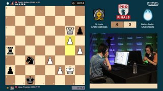Highlight: PRO Chess League Finals 2019 - Proleiko Saves the Game!