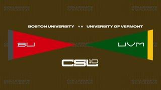 2018 Week 6: [JVLoL] Boston University vs University of Vermont (Game 1)