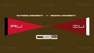 2018 CLoL Preseason Playoffs Ro16 - Rutgers vs Indiana Bloomington (Game 1)