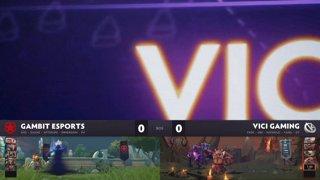 [RU] Vici Gaming vs Gambit Esports, Game 1, StarLadder ImbaTV Dota 2 Minor Grand Final