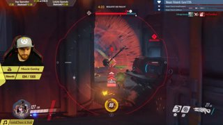How to steal a Kill! Reinhardt Charge doesn't matter.