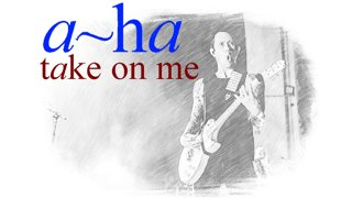 Matt Heafy (Trivium) - Take On Me I Acoustic - Reel Big Fish Version