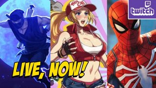 TRIPLE SUNDAY - SNK Heroines, The Messenger & Spider-Man - ASUS Giveaway -> http://bit.ly/asusMax3 (Sat 9-8)