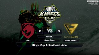 Full: [LIVE-THAI] King's Cup 2: Southeast Asia - Group Stage - Cyberclasher