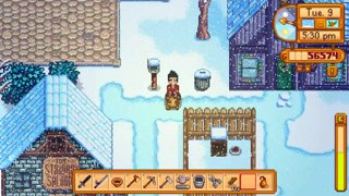 Proposing to Penny - Stardew Valley