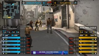 CS:GO - Isurus vs. compLexity [Dust2] Map 3 - Group A - ESL Pro League Season 9 Americas