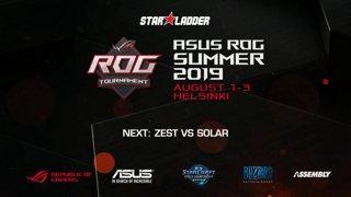 #5 [RU] Assembly Summer 2019: Solar (Z) vs Zest (P)