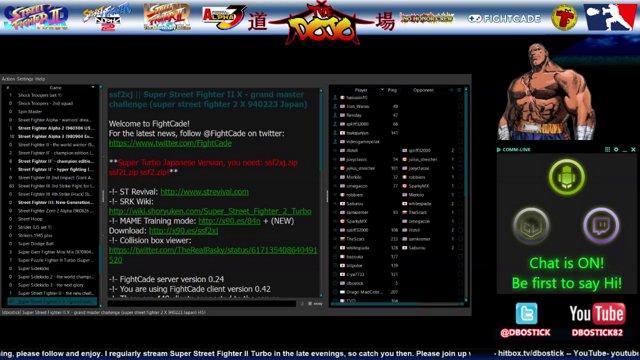 The Super Turbo Dojo- (11-22-15) @FightCade #SSF2X #STRevival @TrollCoinBot  #NoHonorCrew