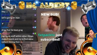 GragAlbert | INSANE AMOUNT OF GIFTED SUBS