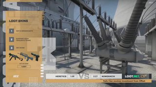 (EN) Heretics vs Adwokacik | Loot.bet/CS Season 3 | map 2 | by @oversiard & @VortexKieran