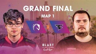 BLAST Pro Series Los Angeles 2019 - Front Row - Grand Final - Team Liquid vs. FaZe Clan - map 1