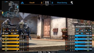[PT-BR] Cloud9 vs. Ghost | ESL Pro League 2019 | Dia 17 - [Mapa 1 - INFERNO]