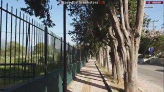 20K STEPS CHALLENGE IN GREECE - 11.3K/20K | @Greekgodx on twitter