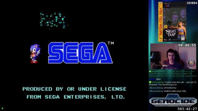 [#32] Night Trap - Sega Genesis 32x