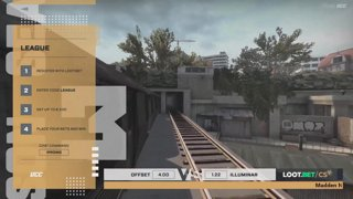 (EN) OFFSET vs Illuminar | map 1 | Loot.bet/CS Season 3 | by @oversiard & @VortexKieran
