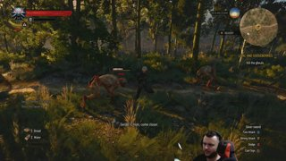 Mike's Away (Day 1) - THE WITCHER III - first day