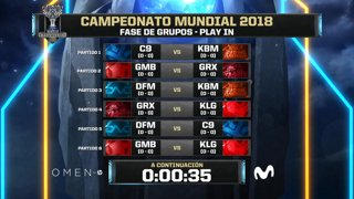 2018 World Championship: Play-In Día 1 - NC