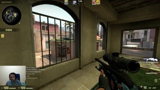 Craziest noscope ever? Counter strike highlight