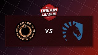 Chaos vs Team Liquid - Playoffs - CORSAIR DreamLeague S11 - The Stockholm Major