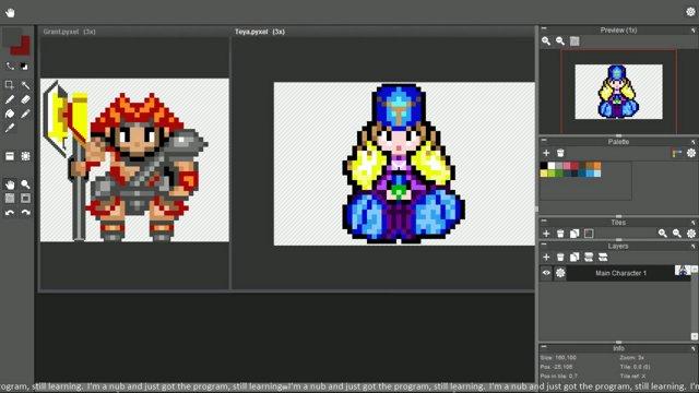 First Ever Pixel Art Cast