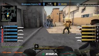 VOD: BO1 games 📽️ game1: PC419 vs Breakaway - BO1 - dust2 game 2: ORDER vs Breakaway - BO1 - train