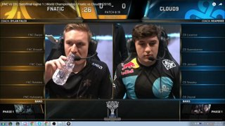 Game 1 Fnatic vs C9 speed vod