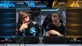 Game 2 Fnatic vs C9 speed vod