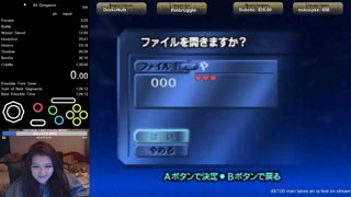 all dungeons pb 1:29:00!!!