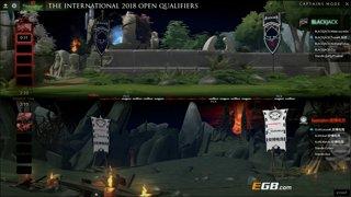 Execration vs BlackJack (BO1) l The International 8 SEA Open Qualifiers #2