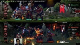 SGD vs B_A_E Game 2 (BO3) l The International 8 SEA Open Qualifiers #2