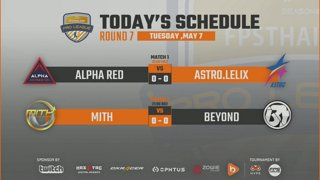 CS:GO Pro League Season#6 : Alpha Red vs Astro.Lelix Ace | MiTH vs Beyond