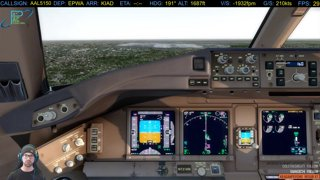 Part 7: Landing and Taxi to the Gate  | CTP Westbound 2018 | EPWA - KIAD