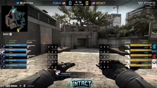 iNTACT vs Furia Finals Map 1