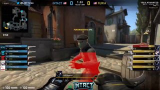 iNTACT vs Furia Finals Map 3